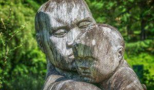Skulptur, Holz, Kind, Psycho-Physiognomik