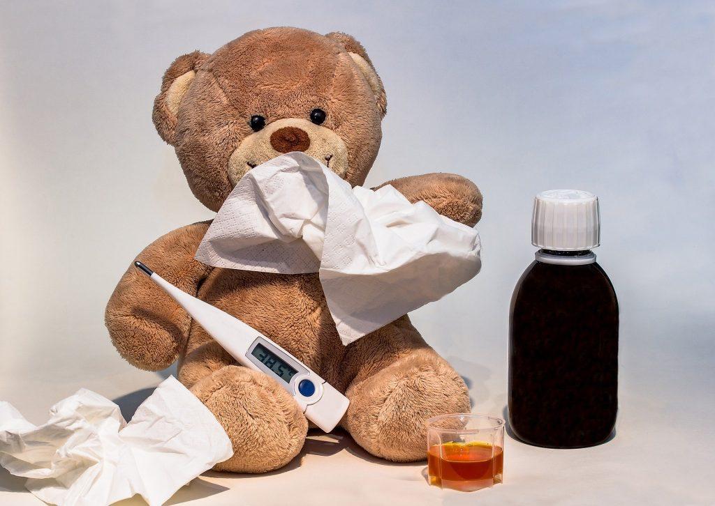Fieber, Erkältung, Homöopathie, Naturheilkundew